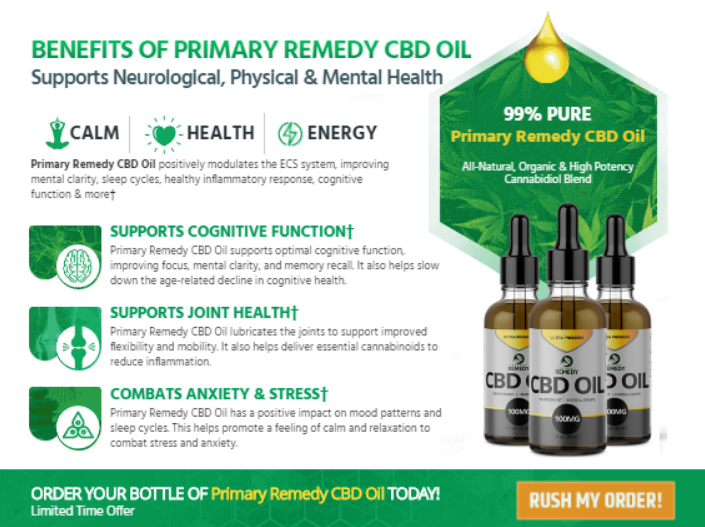 Primary Remedy CBD Benefit