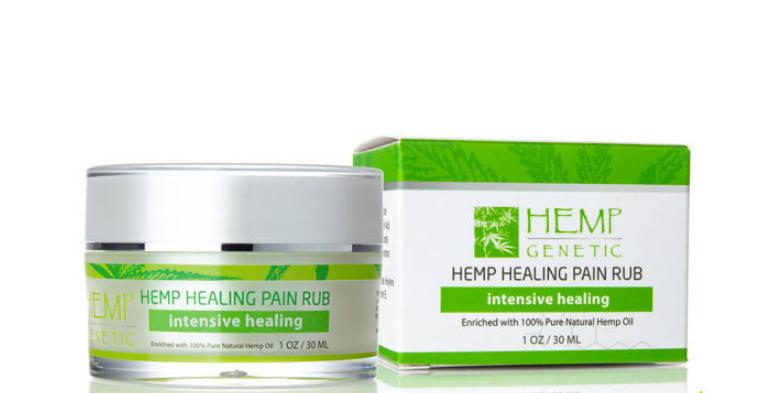 Simply Relief Pain Rub Hemp Extract