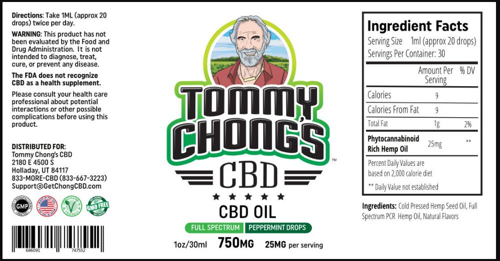 Tommy Chong CBD Oil