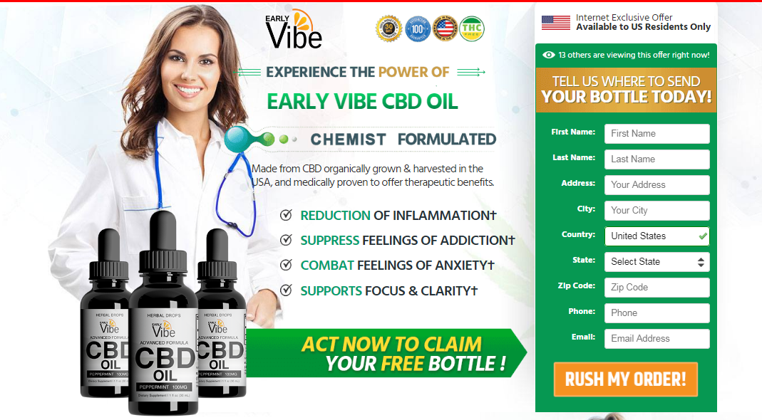 Early Vibe CBD Oil