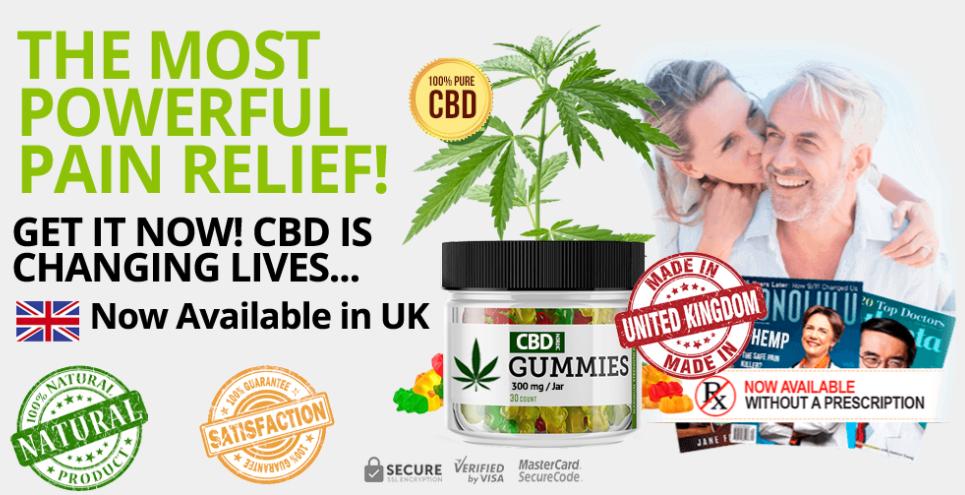 CBD Nordic Gummies United Kingdom Buy