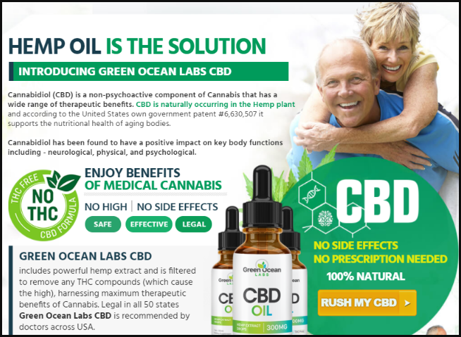 Green Ocean Labs CBD Oil