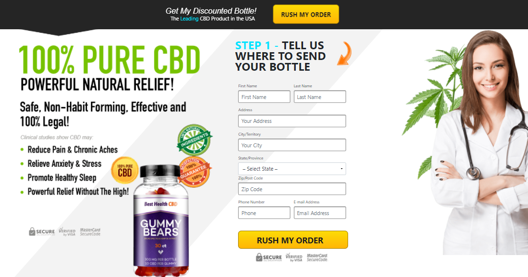 Best Health CBD Gummy Bears