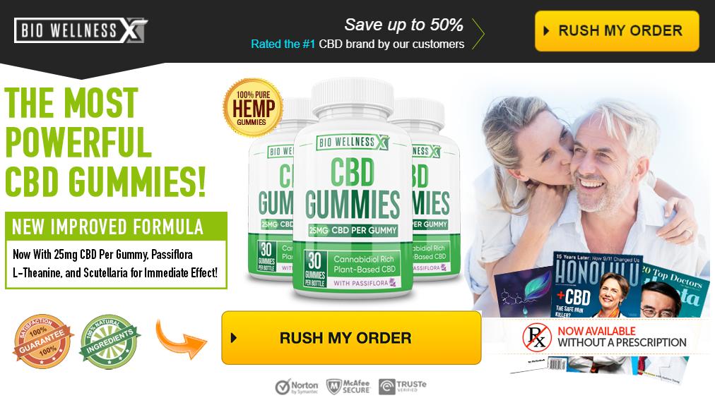 Bio Wellness X CBD Gummies