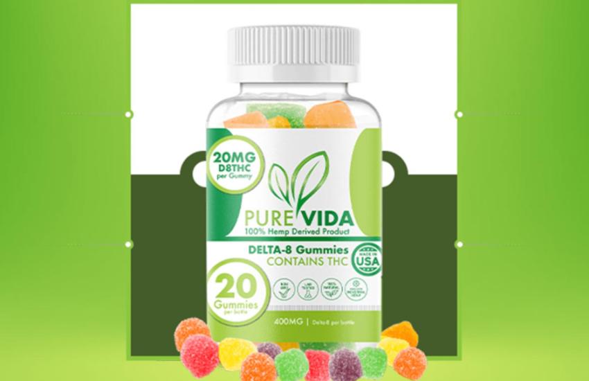 Pure Vida Delta-8 Gummies