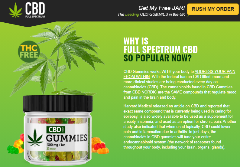 Dragons Den CBD Gummies UK