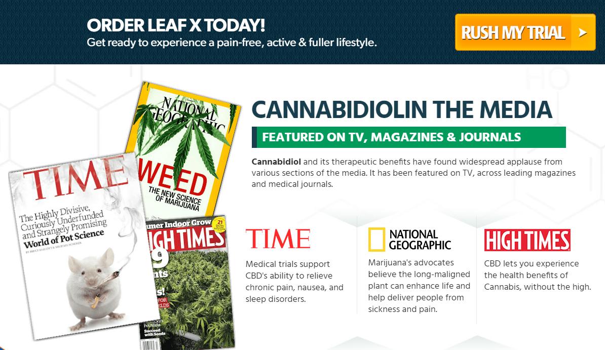 Leaf X CBD