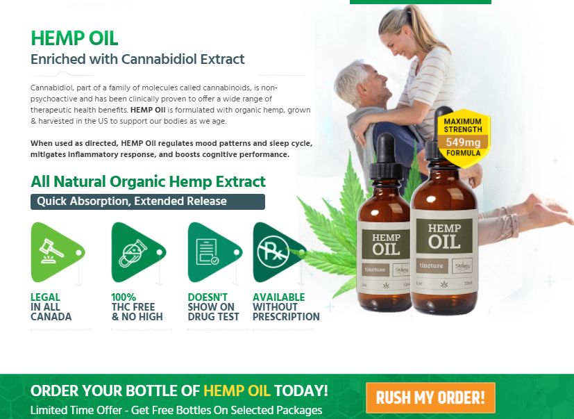 David Suzuki Hemp CBD Oil